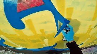 Graffiti - Rake43 - Block Letters