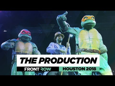 The Production  FrontRow  World of Dance Houston2018  WODHTOWN18