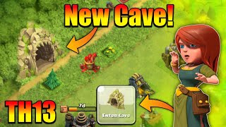 "OMG😮I Found ""Cave"" In Clash Of Clans For TH13 Update! - Clash Of Clans TH13 Update Concept"