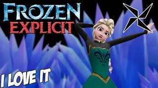 【Frozen MMD】 Icona Pop - I Love It 【Explicit】