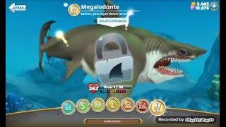 hungry shark world mod gemas y dinero infinito