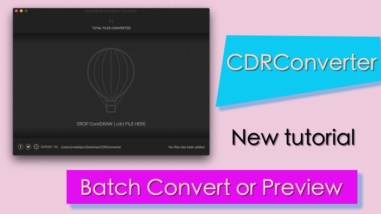 CorelDRAW File Batch Converter – Simple Solutions for
