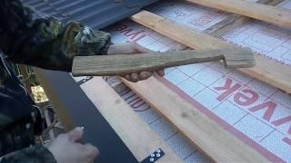 видео Шаг обрешетки под металлочерепицу