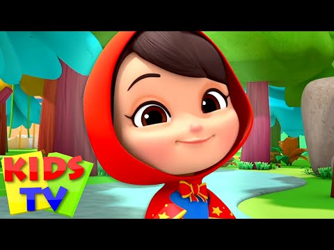 Little Red Riding Hood | Pretend and Play | Short Stories for Kids | Nursery Rhymes & Fairy Tales