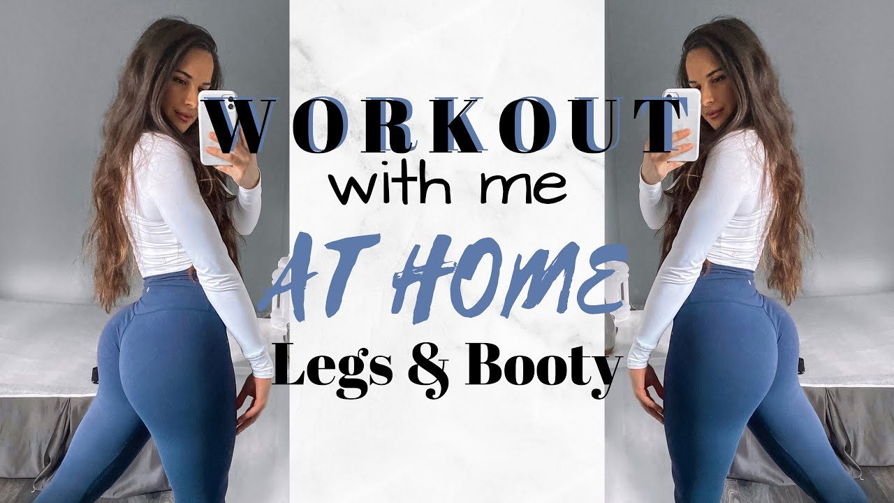 Follow Along LEG & BOOTY WORKOUT || NO EQUIPMENT || grow your glutes at home!