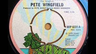 Eighteen With A Bullet * Pete Wingfield