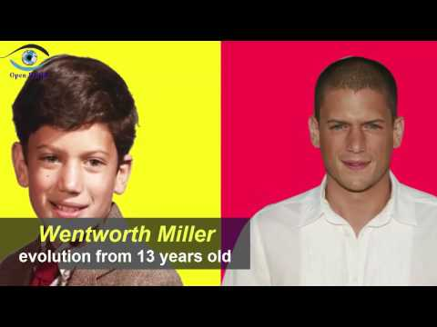 Wentworth Miller  from 13 to 44 years old