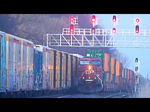 Massive CSX Train