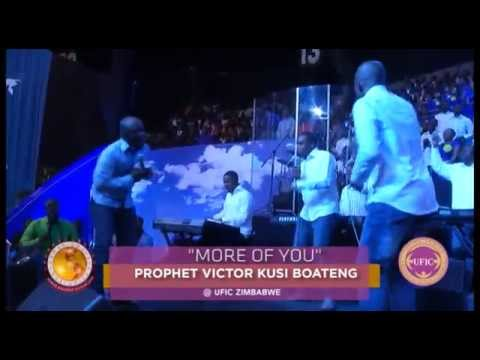 MINISTERING IN SONGS PROPHET VICTOR KUSI BOATENG