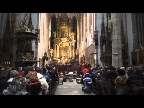 Vánoční koncert duchovní hudby v kostele sv.Víta v Českém Krumlově