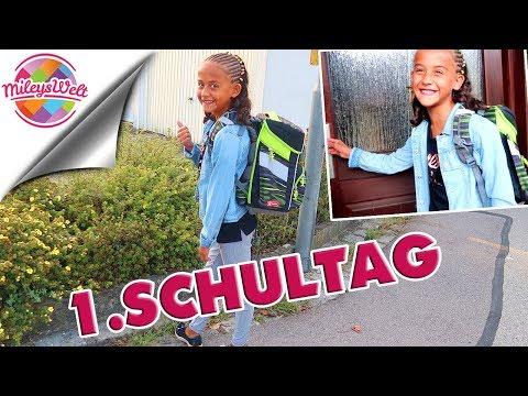MILEYS 1. SCHULTAG - Back to School Routine - Mileys Welt