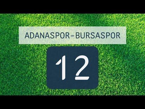 ADANASPOR-BURSASPOR: 1-2