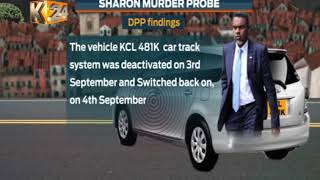 DCI reveals how suspects planned, executed Sharon's murder