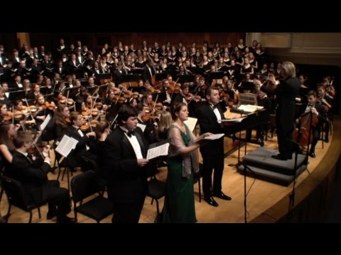 "Haydn's ""The Creation"" - Lawrence Symphony Orchestra & Choirs - April 29, 2016"