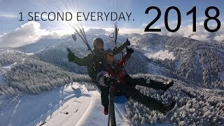 1 Second Everyday For A Year | 2018 | GAP YEAR