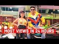 [UPDATED] Top 25 Most Viewed Indian/Bollywood Songs in First 24 Hours | Hindi, Punjabi Songs