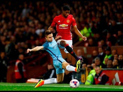 pablo Maffeo vs Manchester United (EFL Cup) 26/10/2016