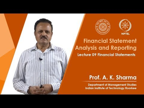 Lec 09. Financial Statements