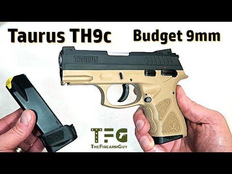 Taurus TH9c Budget DA/SA 9mm Handgun - TheFireArmGuy