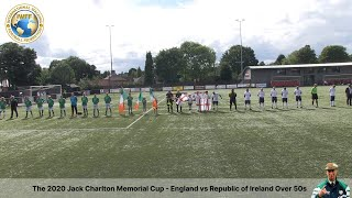 Jack Charlton Memorial Cup 2020 Over 50s International Walking Football Match