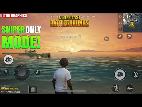 SNIPER MODE GAMEPLAY - PUBG Mobile | Timi Version *NEW WEATHER*