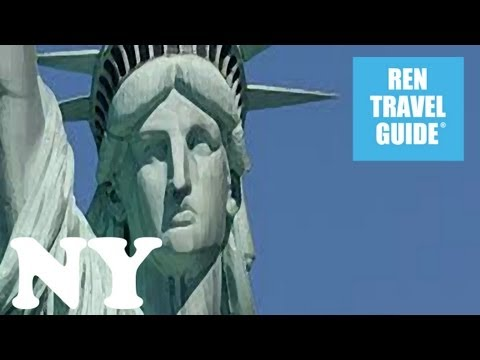 Statue of Liberty, New York - Ren Travel Guide Travel Video