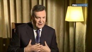 Интервью В. Януковича 09.12.2015(Интервью В. Януковича РИА Новости., 2015-12-10T03:38:05.000Z)