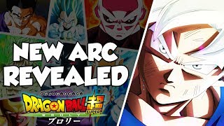 NEW ARC REVEALED! Dragon Ball Super Galactic Patrol Prisoner Arc
