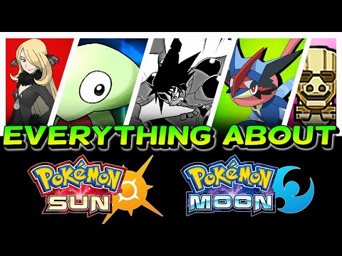 〖Pokemon Sun & Moon〗 EVERYTHING You NEED to Know about Pokemon Sun and Moon!