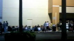 Best Buy Thanksgiving 2010 queue 3am - Boca Raton, Florida