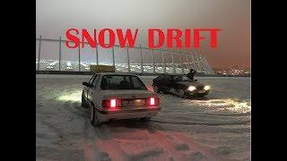 Зимний Дрифт в Киеве BMW - KRUTI EBASh