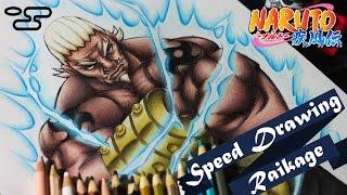 Speed Drawing - Raikage Ay | Naruto  (Collab Kages)