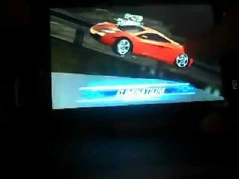 Samsung Galaxy W I8150 Playing Asphalt 6 Adrenaline HD Racing Game