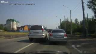 Watch What Happens When Road Rage Strikes Back!