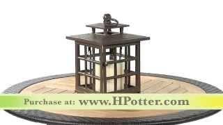 Outdoor Candle lanterns - Garden Lanterns by H Potter