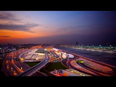 Dubai International Airport timelapse