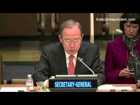 Kidscorrespondent at the UN Youth Forum