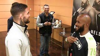 UFCフライ級王者デメトリウス・ジョンソンが「あっちむいてホイ」と「赤いきつね」に挑戦
