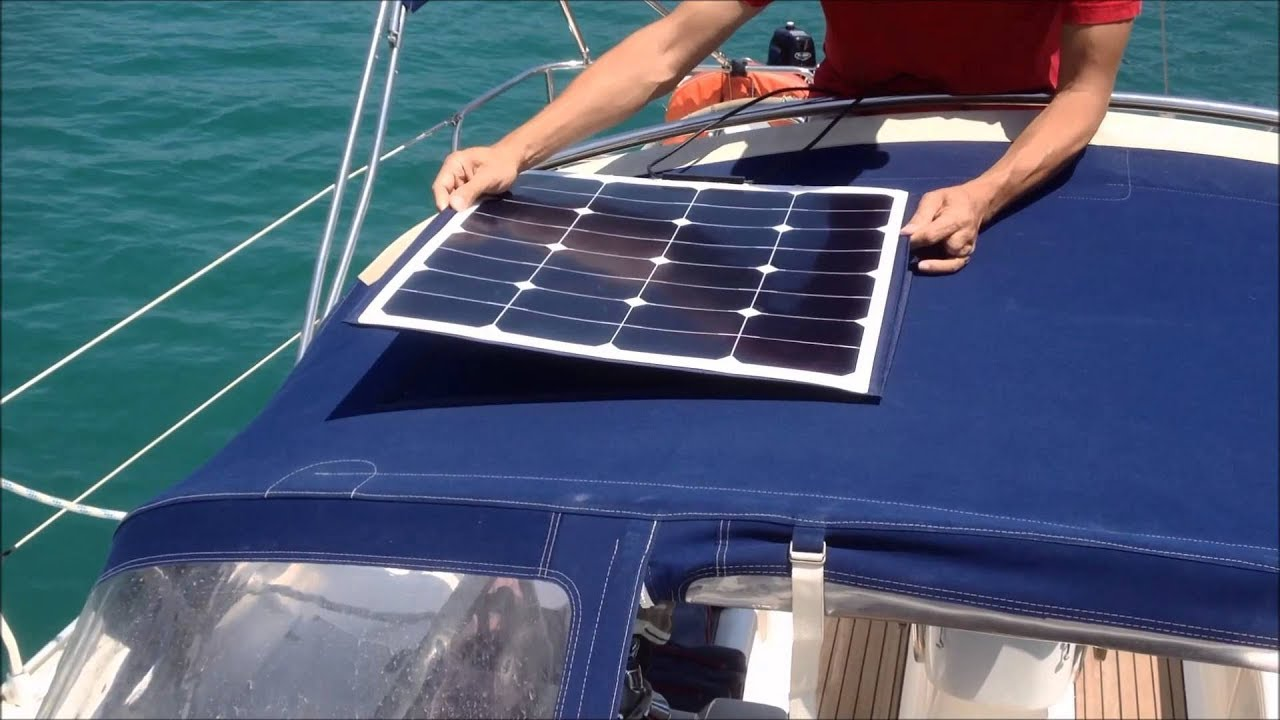 Solar Panels For Boats >> Solar Panel Pacific Yacht Systems