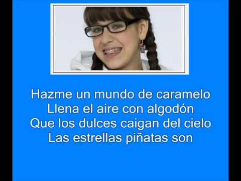 Atrevete A Soñar - Mundo de Caramelo (Danna Paola) + Letra de la cancion