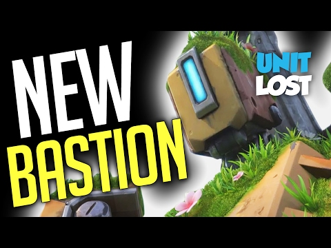 Overwatch - NEW BASTION GAMEPLAY! (Recon Mode FTW?!)