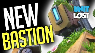 Overwatch - NEW BASTION GAMEPLAY! (Recon Mode...