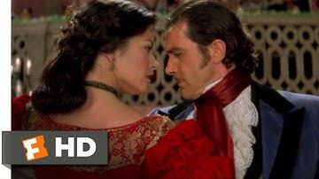 The Mask of Zorro (4/8) Movie CLIP - A Very Spirited Dancer (1998) HD