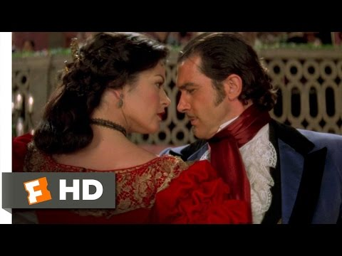 The Mask of Zorro (4/8) Movie CLIP - A Very Spirited Dancer (1998) HD