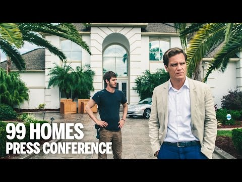 99 HOMES Press Conference | Festival 2014