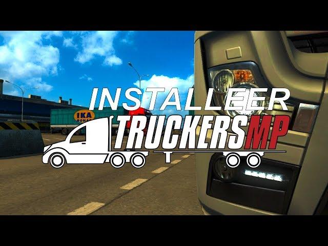 Installeer multiePlayer voor Euro Truck simulator #ets2 #ats