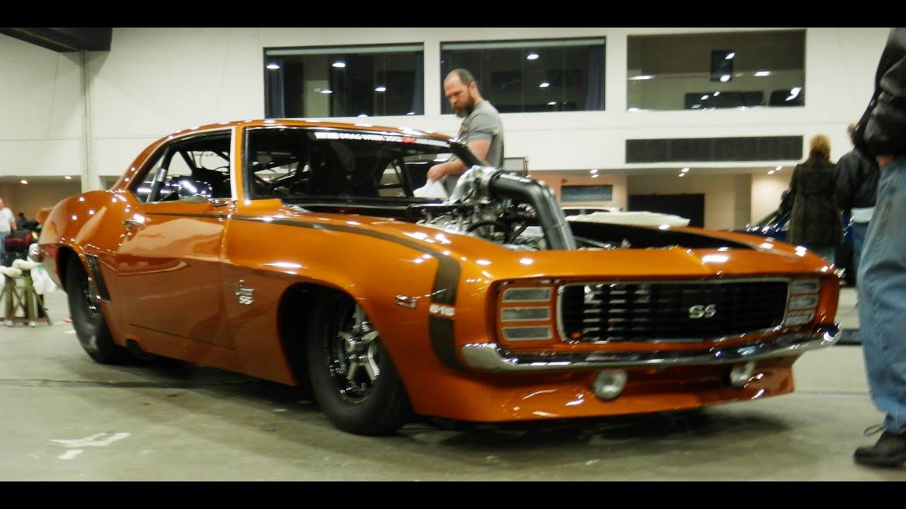 Tom Balley 1969 Camaro Drag Week Race Car RUNNING - YouTube