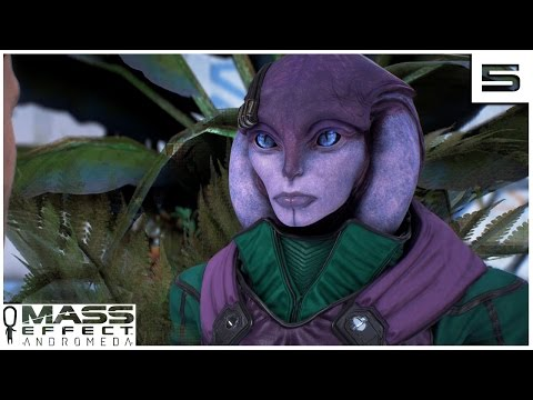 Mass Effect Andromeda EP 5 - THE ANGARA- Let's Play Gameplay Part 5