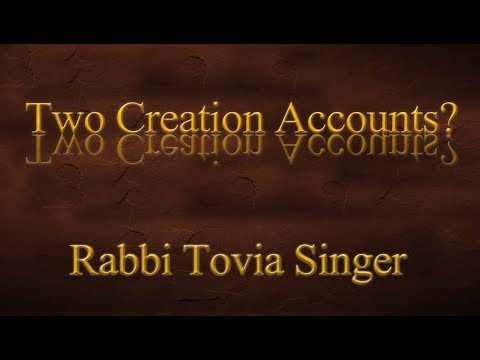 Caller Confronts Rabbi Tovia Singer: Why are there Two Contradictory Creation Accounts in Genesis?