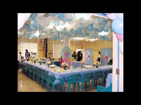At Home Birthday Party Decorations For Kids